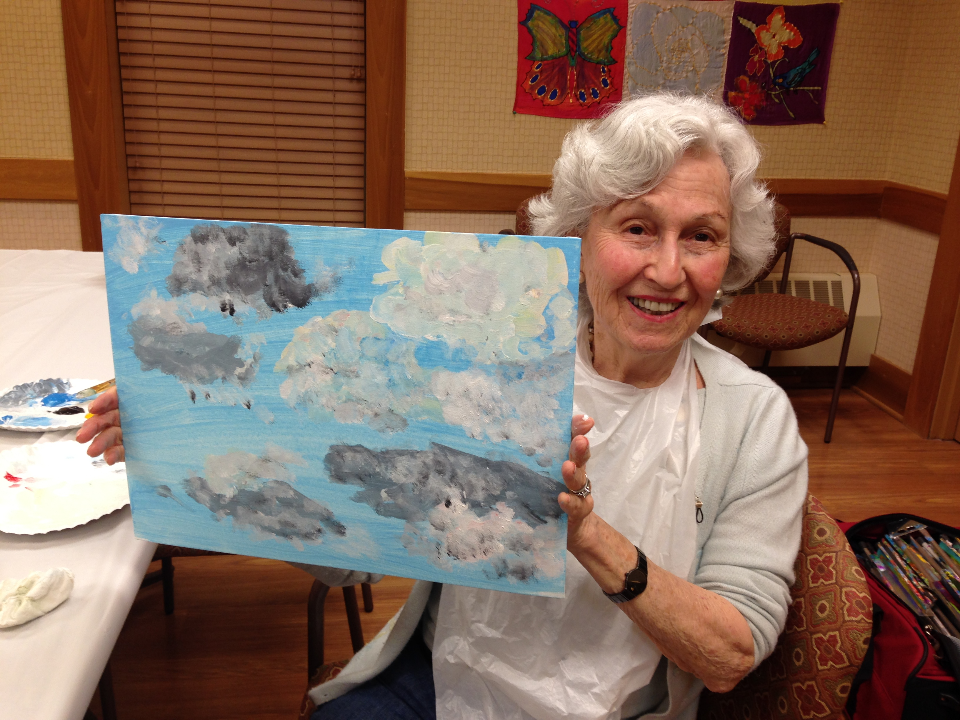Wiggins Place painting event 3/16/16