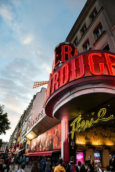 Moulin Rouge, Montmatre