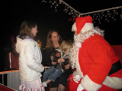 Santa On Pine Avenue - Manhattan Beach