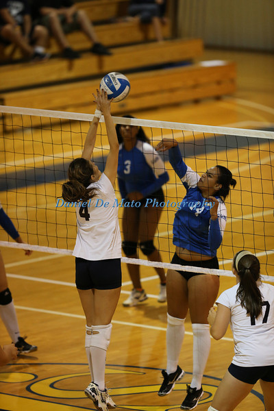 Lehman Women's Volleyball vs SJC on 9-13-12