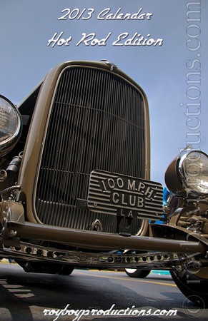2013 Calendar For Charity Hot Rods Edition