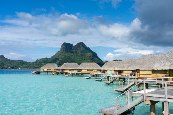Bora Bora, the paradise island - June, 2021
