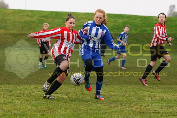 v Sheffield United Community Girls 02 - 11 - 13
