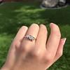 .80ctw Antique English 3-Stone Peruzzi Cut Diamond Ring 5