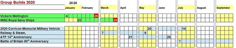 2020 ATF GB Calendar