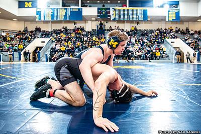 125-157lbs - Michigan Vs Oregon State - 1-05-20