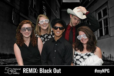 National Portrait Gallery REMIX nights: Black Out