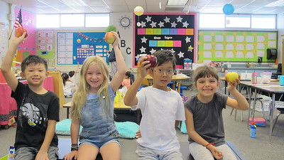 PCY Students Study Johnny Appleseed, Apples
