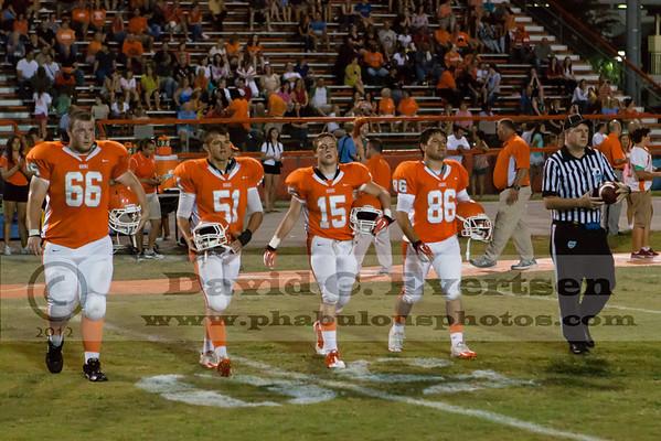 Boone Varsity Football #51 - 2012