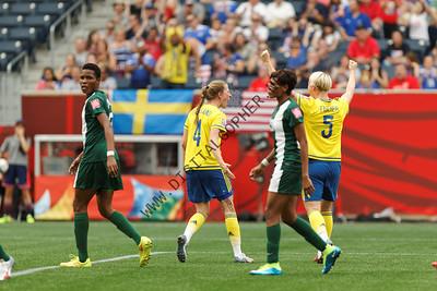 Sweden vs Nigeria - June 8th 2015