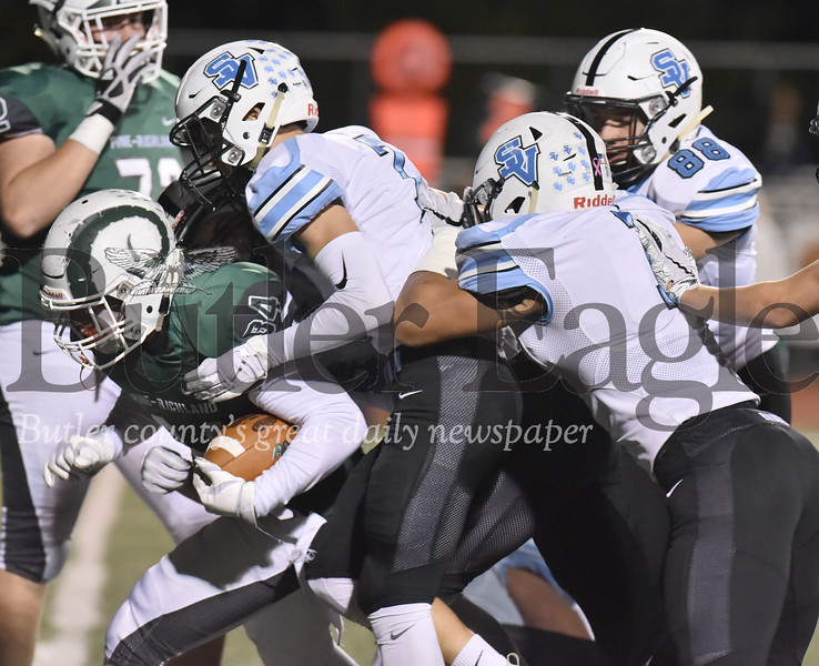 79761 Seneca Valley vs Pine-Richland  in a WPIAL class 6A football game   at Pine Richland