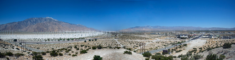 Wind Generators, Southern California 2011