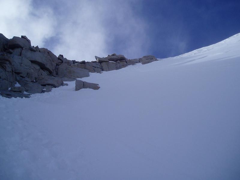 Final push towards the Mt Whitney summit
