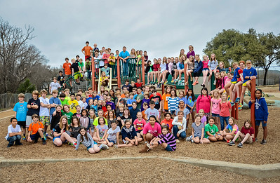 Casis Fifth Grade 2013 Group Photo