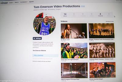 VIMEO- Tom Emerson Video Productions