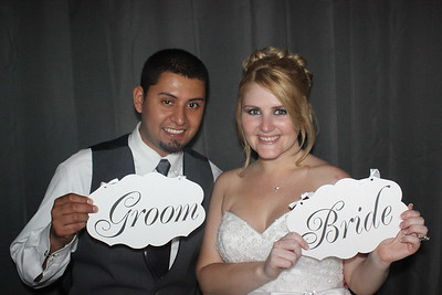 Brittany and Alex's Wedding Photo Booth Schererville