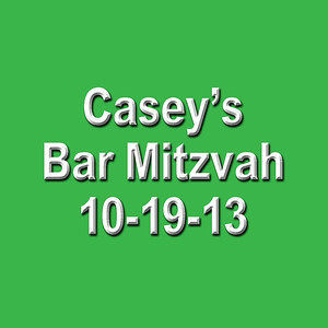 Casey's Bar Mitzvah