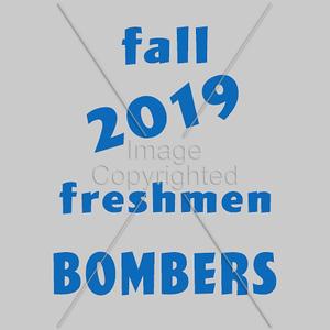 Fall Freshmen - 2019 BOMBERS