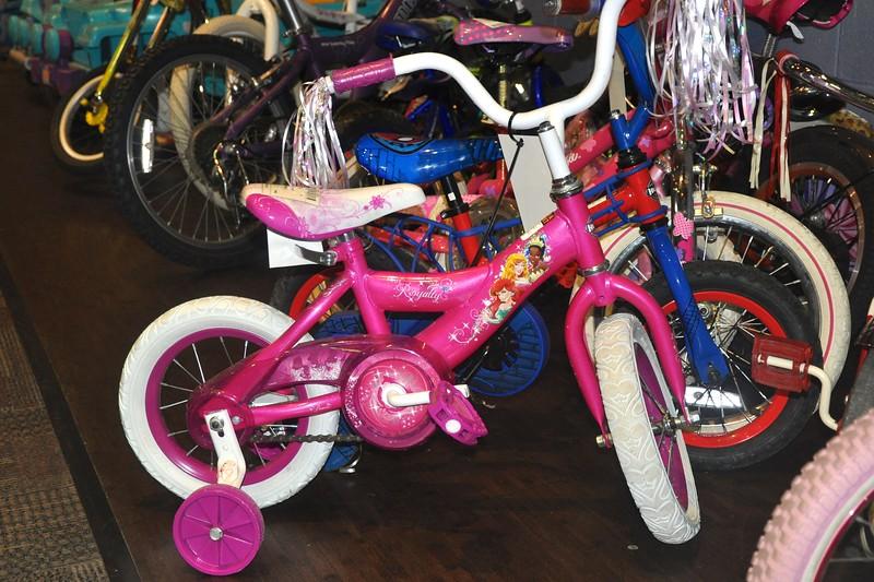 Pink Girl's Bike