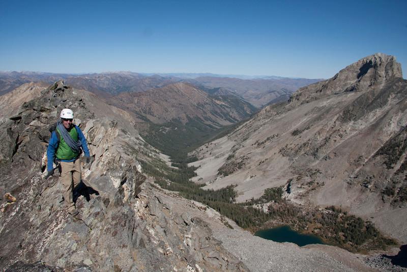 This is hiking?  High on the ridge above Kane Lake.