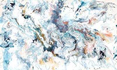 """""""Prop Wash"""" (acrylic) by Jane Baldridge"""