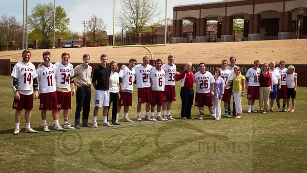 Elon Lacrosse Senior Day 2013 Parents