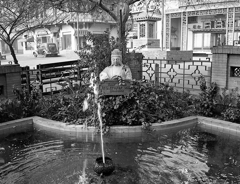1950, Buddha Wishing Well
