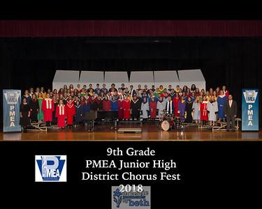 Junior High PMEA District 5 Festival 2018