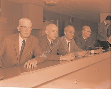 Department of Athletics Barrett Athletic Directors May 1965