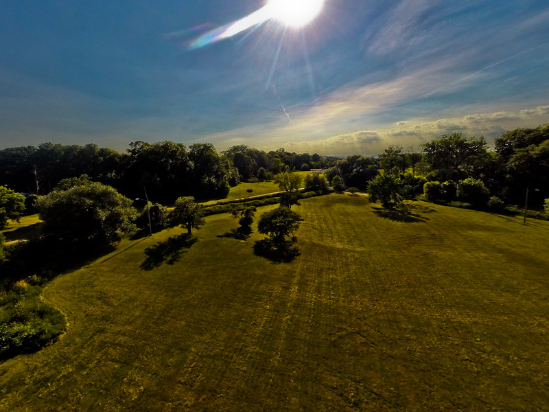 High-noon Summer at the Park 31 : Aerial Photography from Project Aerospace