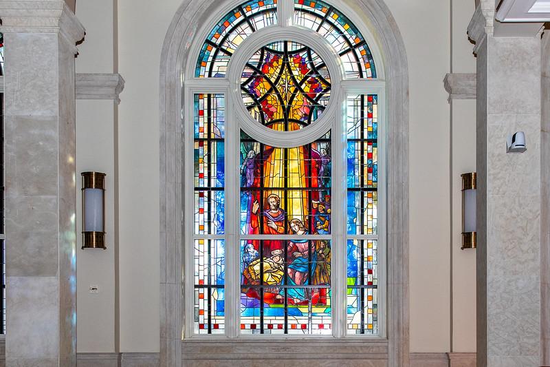 12.08.20 Nativity Stained Glass Window