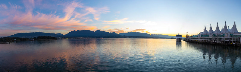 Vancouver Waterfront Sunrise