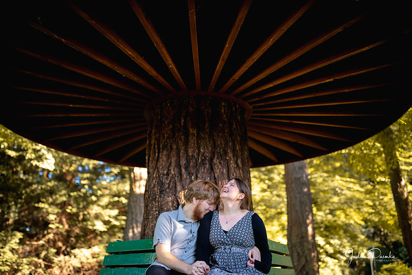 Mya & James - Engagement Shoot | Beacon Hill Park, Victoria BC