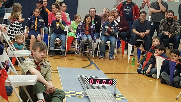 20180316 - Pack Pinewood Derby