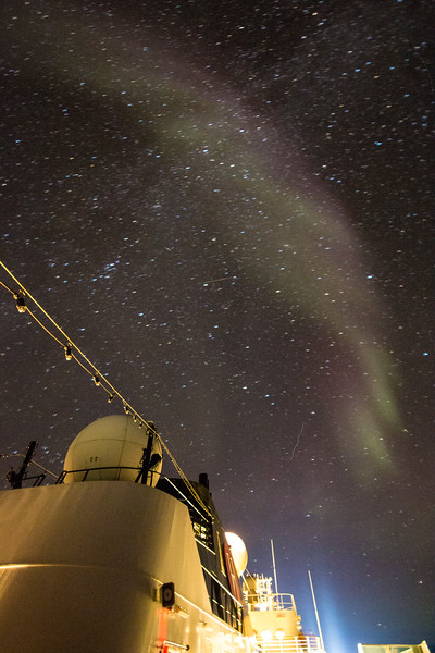 Northern Lights over the Vaigat