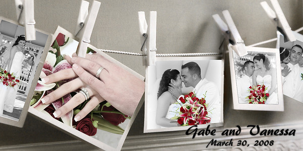 Vanessa and Gabe's coffee table book