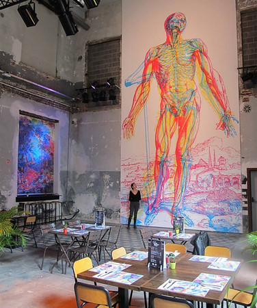 "Carnovsky colorizes RGB ""Murals"""