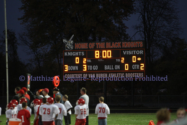 October 9, 2010 Pandora-Gilboa vs. Van Buren
