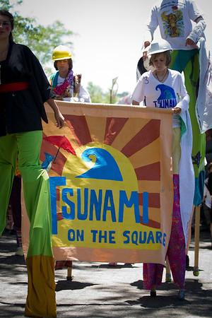 Tsunami on the Square 20111