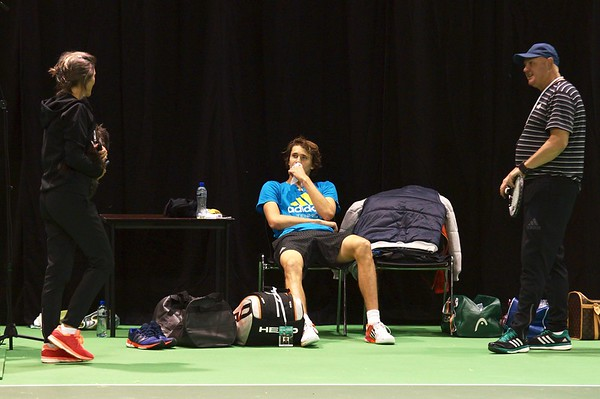 A. Zverev and Lovik