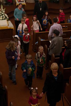 Bright Monday Liturgy 2012