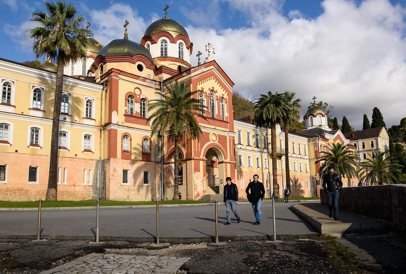 New Athos monastery, front