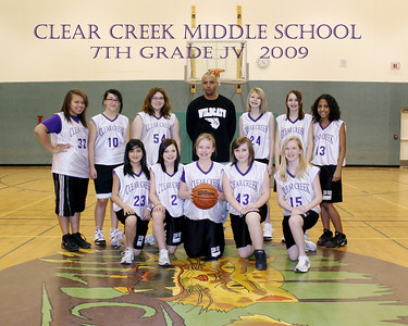 JV 7th Grade Girls Basketball Team Pictures