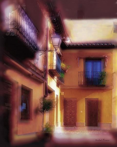 Street Corner, Toledo, Spain
