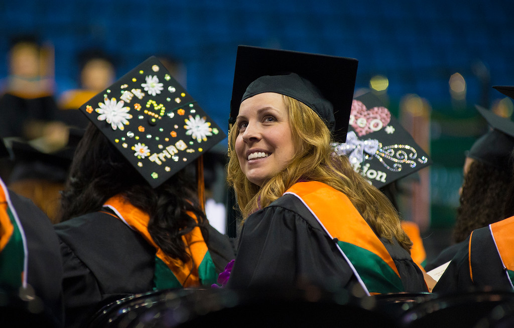 . The University of La Verne graduates the Class of 2013 June 1, 2013 at the Citizens Business Bank Arena in Ontario. (Frank Perez/Special to the Inland Daily Bulletin)
