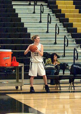 Basketball Varsity Girls vs Desert Edge 1/19/2010