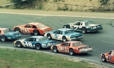 Claremont Speedway in the 1980's