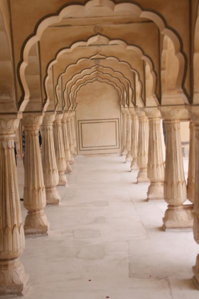 inside Amber Fort