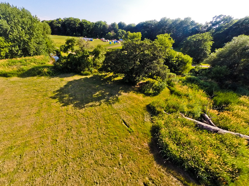 High-noon Summer at the Park 14 : Aerial Photography from Project Aerospace