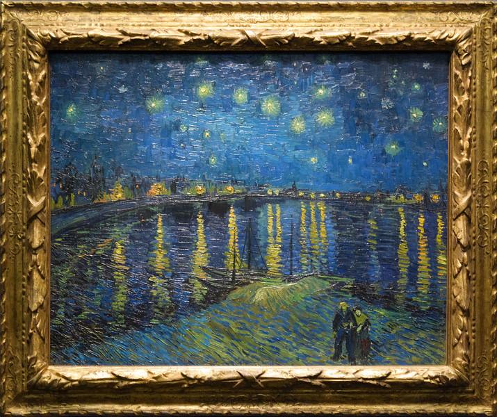 Vincent van Gogh, Starry Night Over the Rhône, 1888